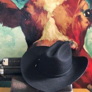 Especial El Presidente 20x Black Cowboy Hat: